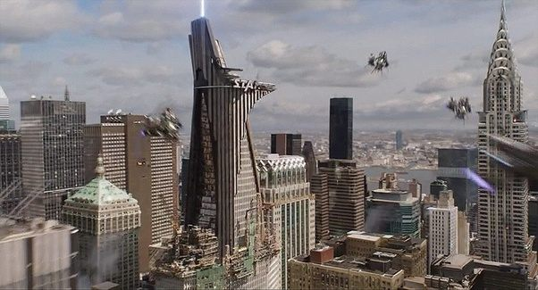 In Avengers Age Of Ultron It Looks Like This