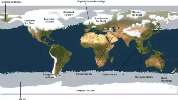 During The Ice Age  Did Glacial Ice Advance From Antarctica To Cover South America  New Zealand