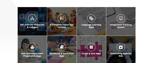 Which is the top company for educational mobile application