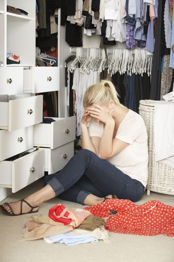 Image result for stuck in worry, guilt, shame, fear, and patterns that are just worn out. But like our closets filled with outdated clothing, we keep them around...