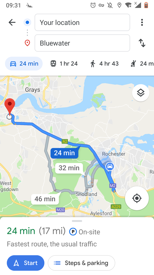 How to keep the screen always on when using Google Maps on