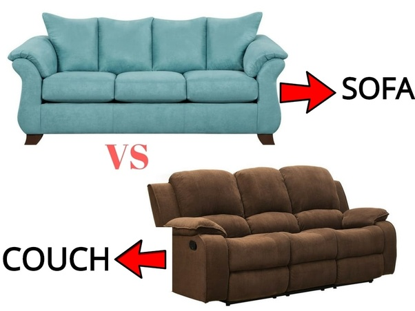 What Is The Difference Between A Couch A Sofa And A Davenport