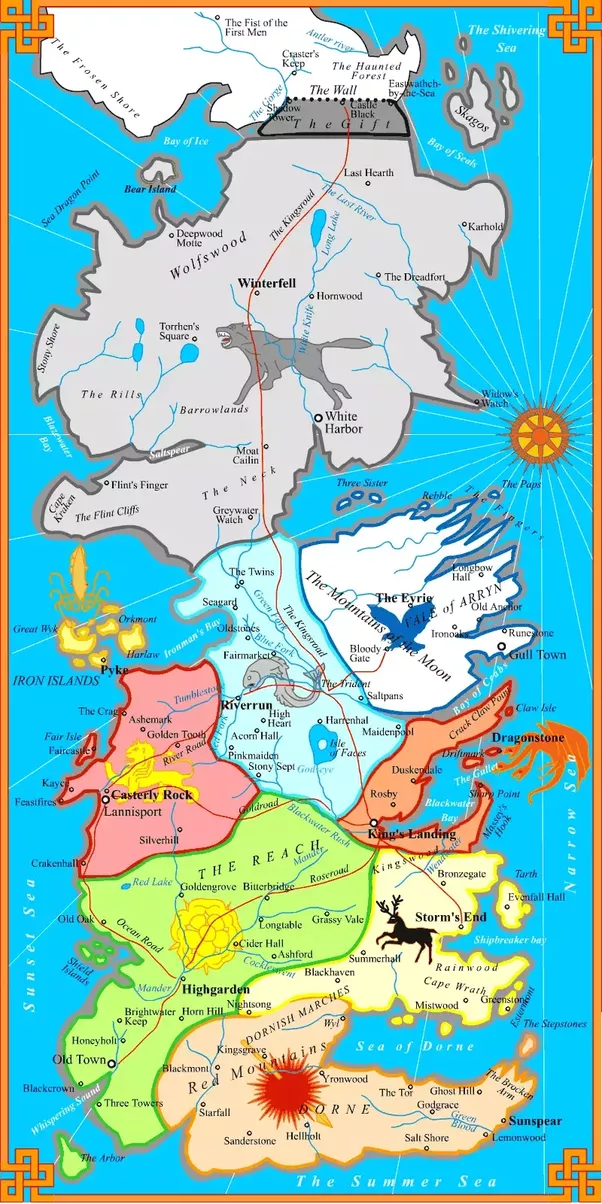 What is the map of the Game of Thrones world? - Quora Game Of Thrones Entire Map World on map of westeros map, entire world of warcraft map, entire united states map, new official westeros map,