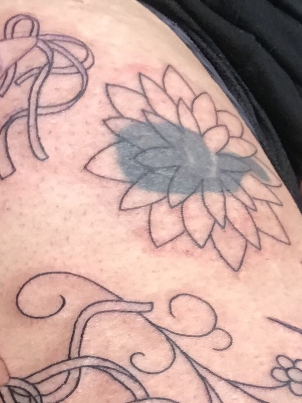 Can You Cover A Black Tattoo With Another Color Quora