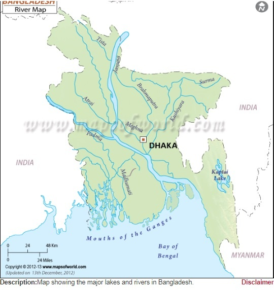 What is the major river of bangladesh quora please see below map for the major rivers of bangladesh gumiabroncs Gallery