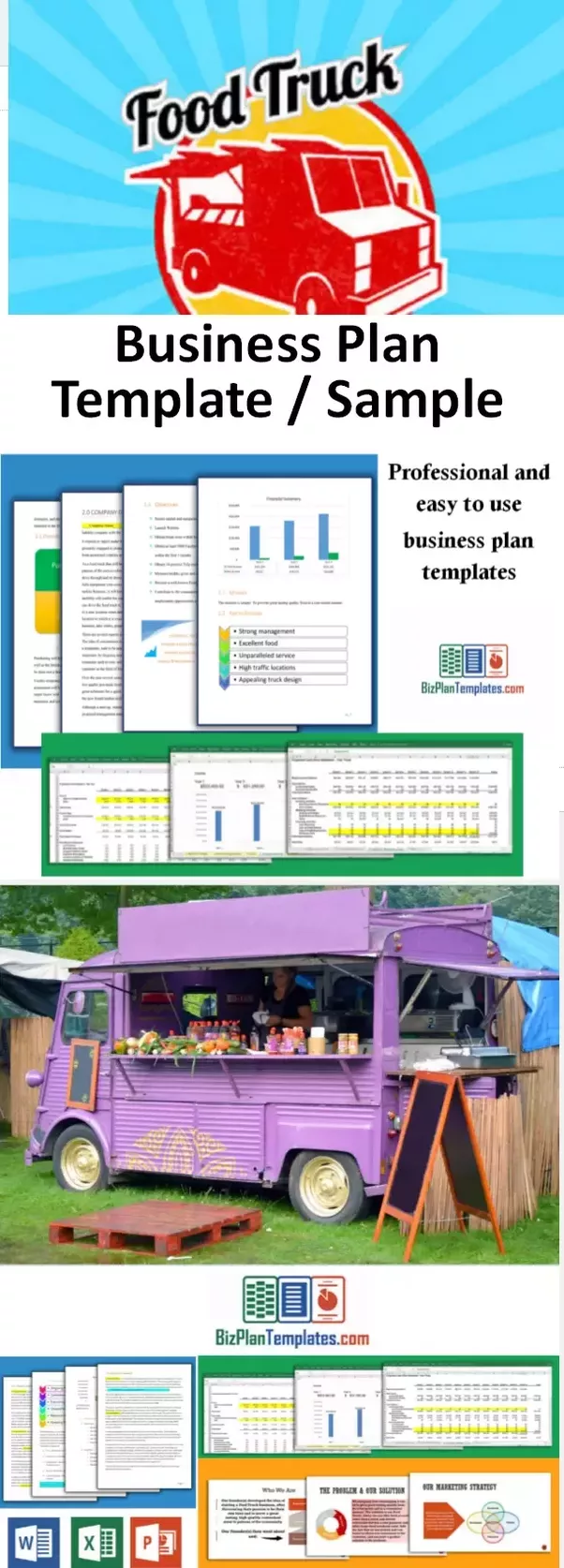 Whats the food truck business like quora if you choose to get involved having a solid business plan can be helpful using a template such as the food truck business plan template will save a lot wajeb Image collections