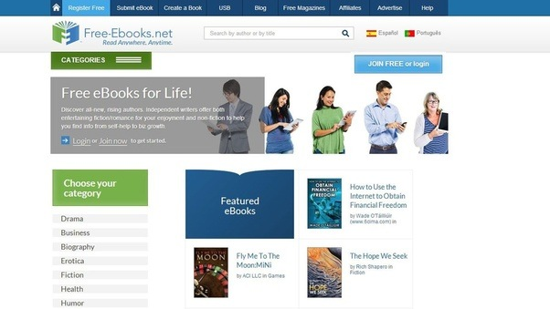 Which are the best sites to download pdf books free quora a screenshot of the free ebooks homepage fandeluxe