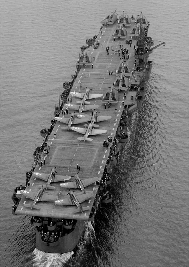 How many aircraft carriers did the usa build during world war 2 9 independence class light carriers with up to 35 aircraft sciox Gallery