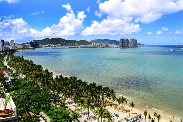 Living in sanya china
