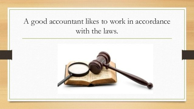 characteristics of a good accountant