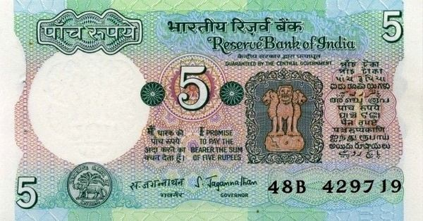 What does indian money look like