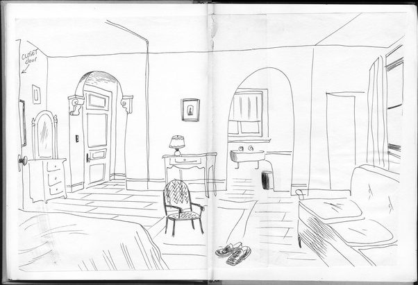 And Simply Draw From Your Surroundings Everything You See Can Be A Subject Look Around Out The Window In Room Home
