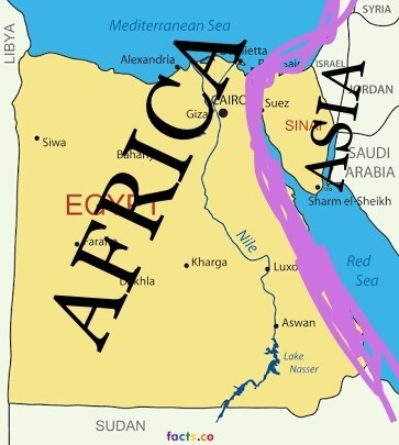 Is Egypt In North Africa Quora - Where is egypt