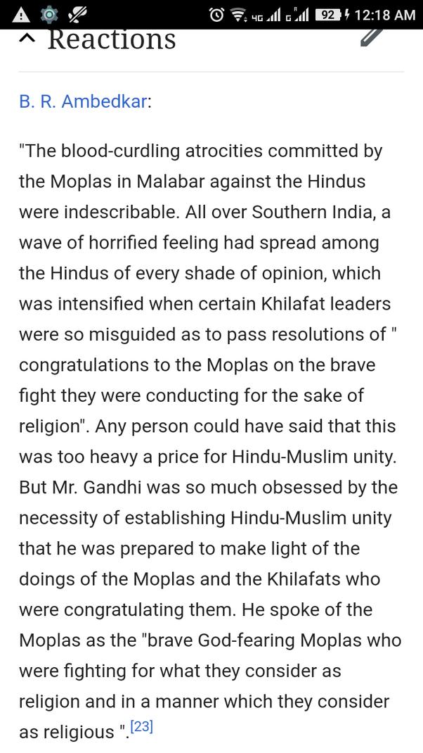 Que s'est-il réellement passé lors des émeutes de Mappila au Kerala? Était-ce une lutte pour la liberté ou autre chose?