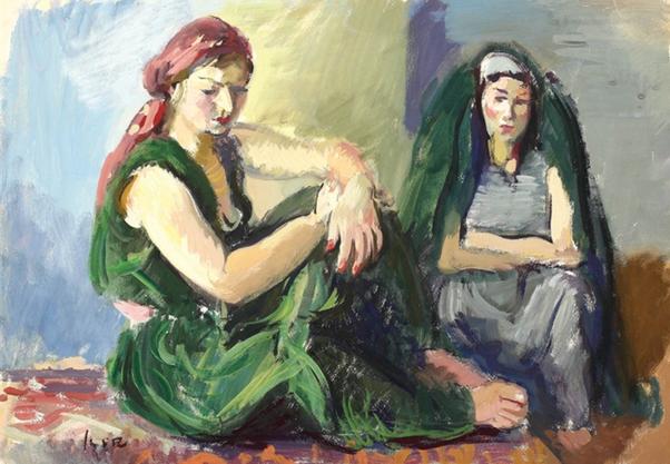Portrait - Iosif Iser - WikiArt.org