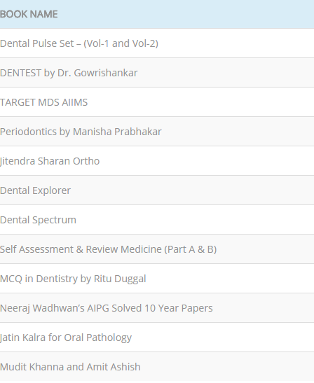 Dental Pulse Mcq Book Pdf