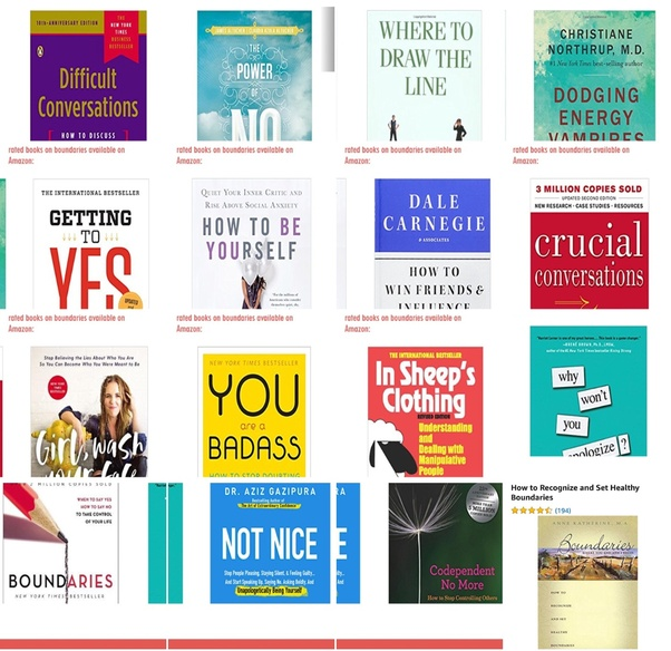 What are the best books on Boundaries, in terms of