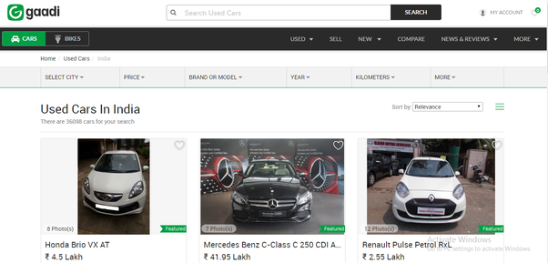 d21f4622c9 ... quality Auto Website in India which is relevant to it s users. The  website provides users New Car Research. It is a best used car buying and  selling ...