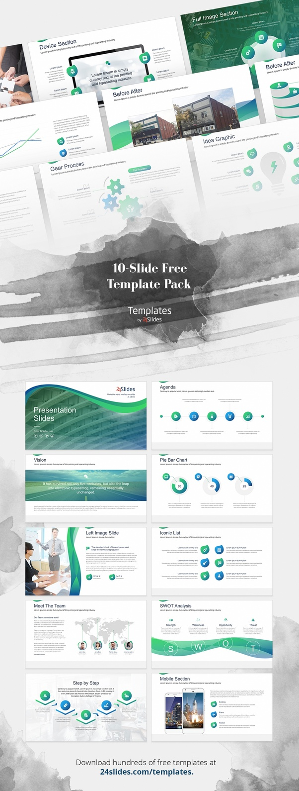 How to make powerpoint slides look elegant and designy quora leave it to the design of this template to give a professional and a well structured presentation of your brand it is also completed with charts map toneelgroepblik Choice Image