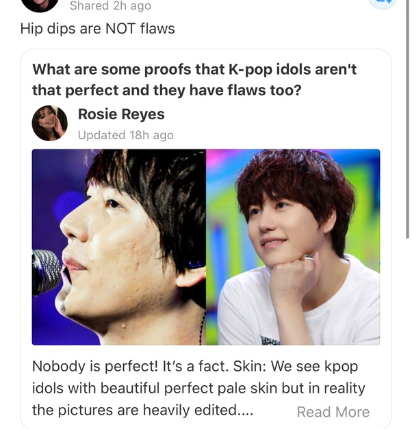 What Are Some Proofs That K Pop Idols Aren T That Perfect And They Have Flaws Too Quora