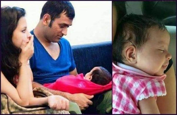 Dhoni Wife And Daughter