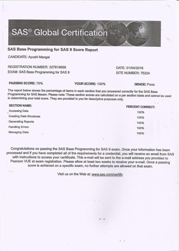 How to Prepare for SAS Certification Exam? - Best Analytics Training ...