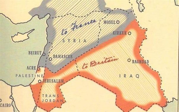 Who Was Responsible For The Creation Of The Sykes Picot Agreement