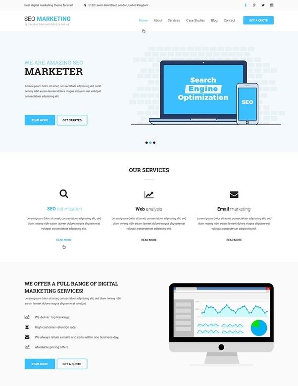 What is the best SEO agency WordPress theme? - Quora