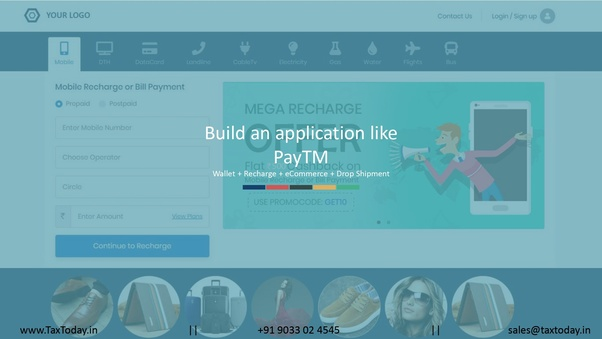 How to obtain a ready-made website like Paytm - Quora