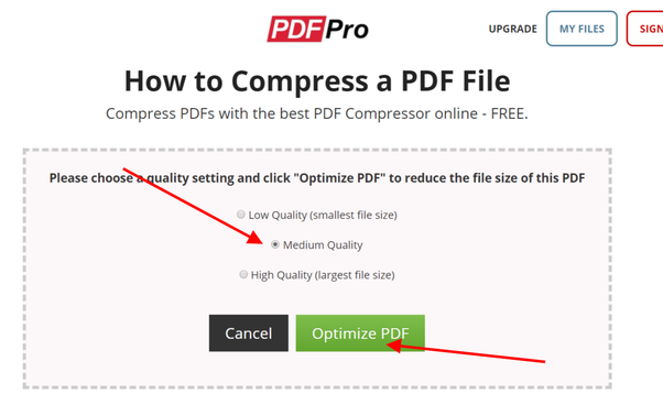 How to reduce the size of a PDF file to under 100kb - Quora