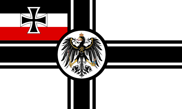 German Flag During Ww1