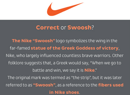 new arrival 5a705 f36f9 What is the meaning behind the Nike symbol  - Quora