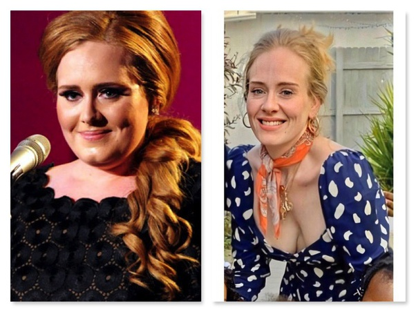 Do you think Adele's weight loss is attractive or ...