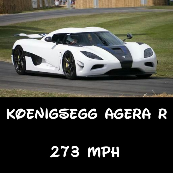 Which Is The Fastest Car In The World Today?