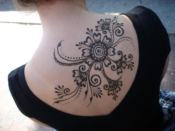 Mehndi Tattoos For Arms : What are henna tattoos how long do they last quora