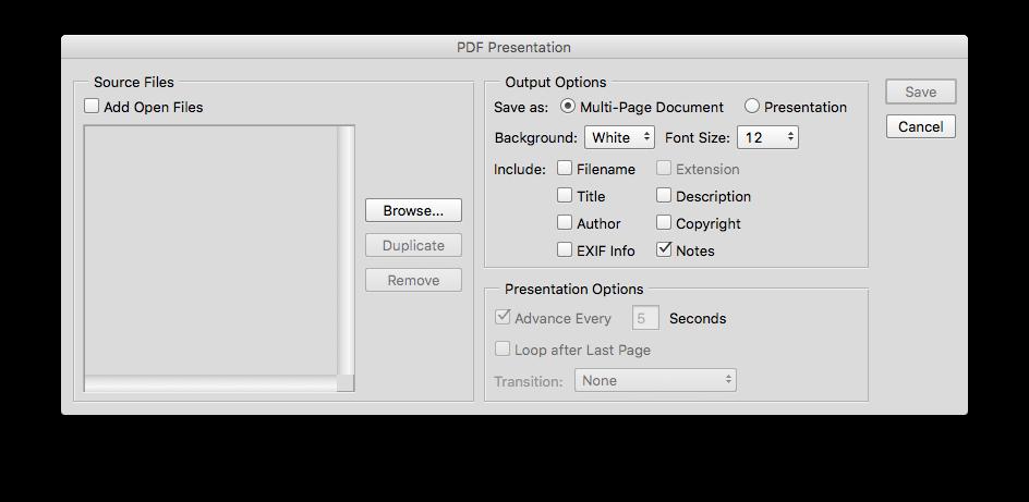 Adobe Photoshop: How do you convert  psd files to  pdf files? - Quora