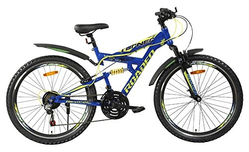 4ed98db4e High responsive shock absorbers offers smooth rides in all terrains. This  stylish Roadeo bike also has 21 speed easy fire thumb shifters and Shimano  gear ...
