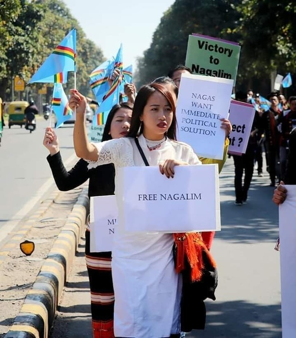 Image result for naga women protest