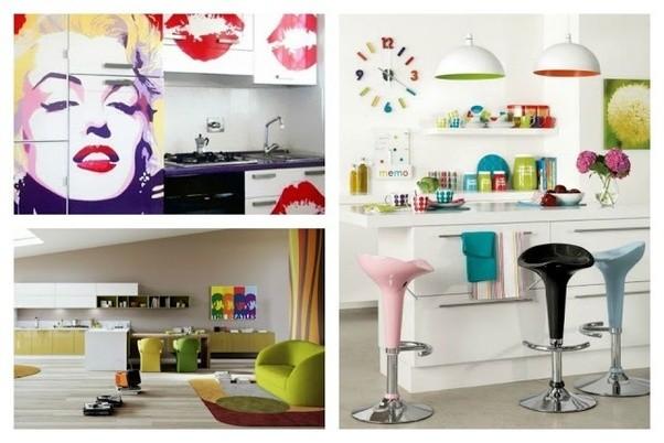 Kitchen Decoration   20 Super Modern Deco Pop Art Style