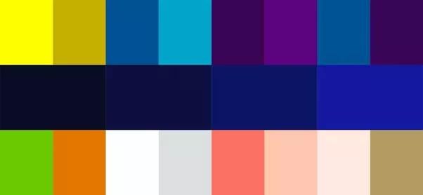Cu les son algunos de los colores que combinan bien con el azul marino quora - Colores que combinan ...