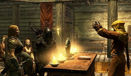 Marry in the best skyrim woman to The Best