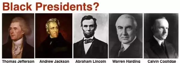 who were the first black presidents