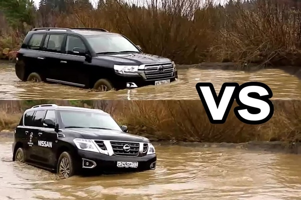 Which is the better large SUV, the Toyota Landcruiser or the