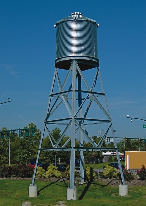 Which Material Is Best For Overhead Water Storage Tank