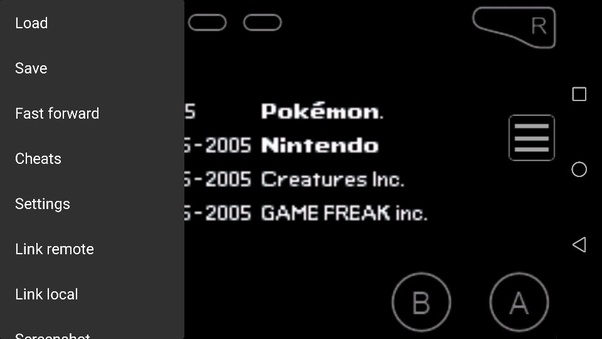 pokemon gba for android