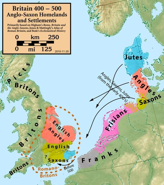 Are English people really Anglo-Saxon? - Quora