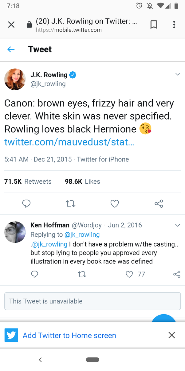 Why is the Harry Potter fandom starting to turn against JK Rowling