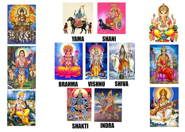 What are Hindu Gods? Are they personifications of human