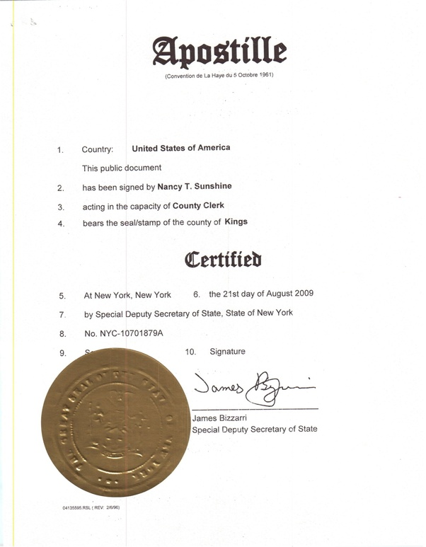 What is an apostille? - Quora