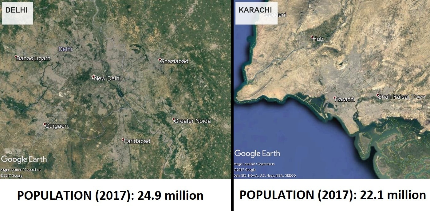 Is Karachi bigger than Delhi? - Quora